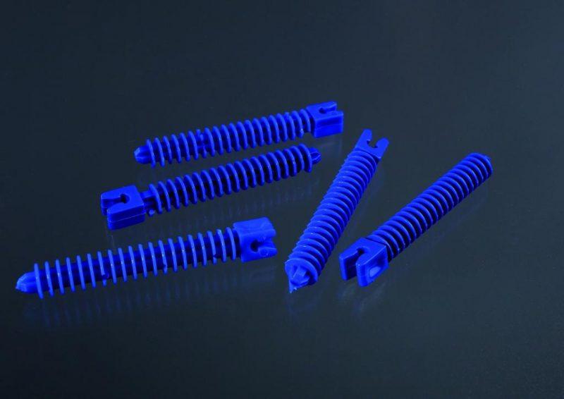 Lamelová hmoždina pre ohýbateľný prechodový profil. nylon. priemer 6 mm. dĺžka 25 mm