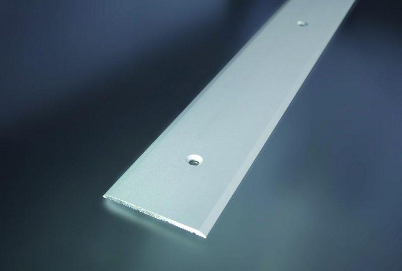Prechodový profil vŕtaný 40x2 mm