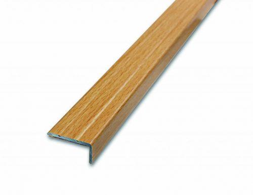 Schodová hrana samolepiaca 24.5x10 mm