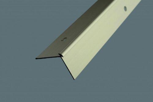 Schodová hrana vŕtaná 39.5x29.5 mm. hrúbka 2.5 mm