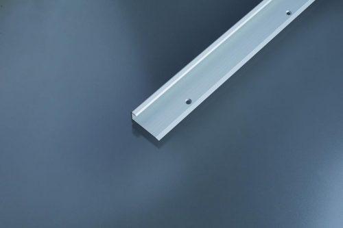 Schodový profil vŕtaný 37.5x20 mm. hrúbka 9 - 10.2 mm