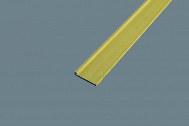 Ukončovací profil 21x3.5 mm. hrúbka 2 mm