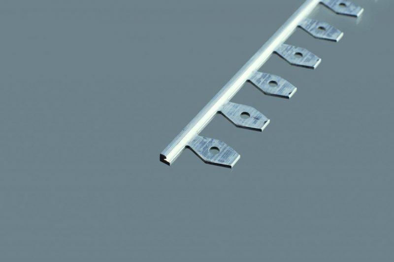 Ukončovací profil ohýbateľný 21x3.5 mm. hrúbka 2 mm