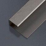 Ukončovací profil vŕtaný 28x13 mm. hrúbka 9 - 10.2 mm